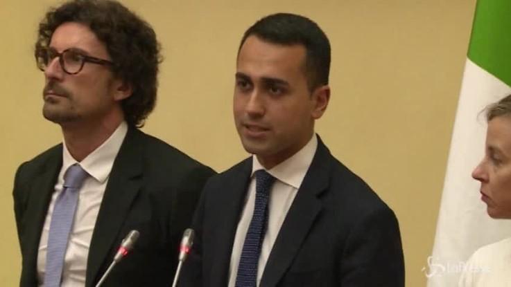 """Di Maio: """"L'Italia non è ricattabile"""""""
