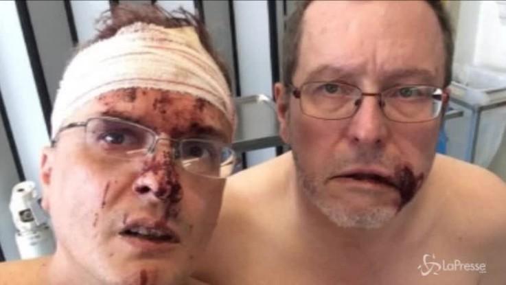 Fumettista italiano e suo marito picchiati in Belgio perché gay