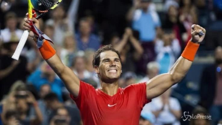 Tennis, Nadal sempre più numero uno