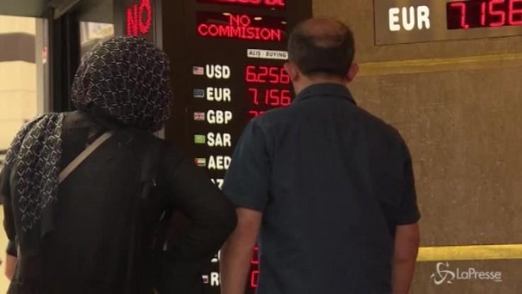 La crisi turca pesa sulle borse europee