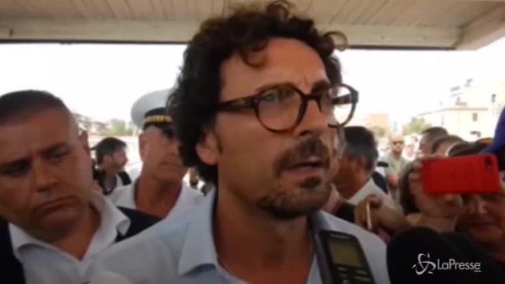 """Toninelli: """"I vertici di Autostrade per l'Italia devono dimettersi"""""""