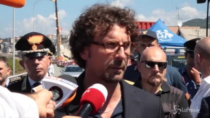 """Genova, Toninelli: """"Revocheremo concessione ad Autostrade"""""""