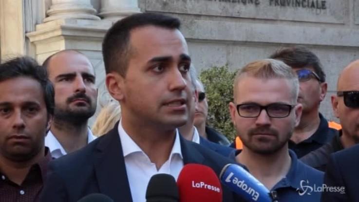 """Genova, Di Maio: """"Task-force sulla sicurezza dei viadotti"""""""