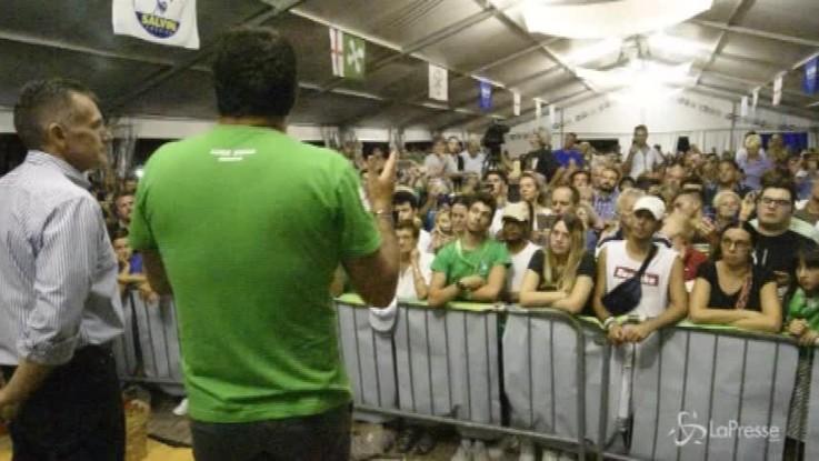 """Crollo Genova, Salvini: """"Chi è stato al governo prima cosa ha controllato?"""""""