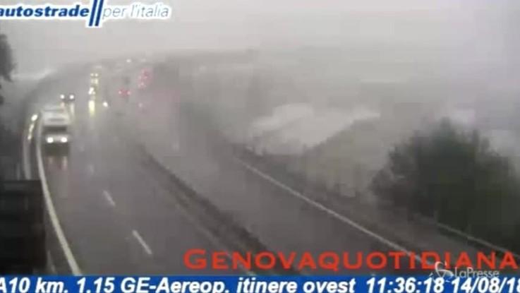 Tragedia Genova, il video di Autostrade prima del crollo