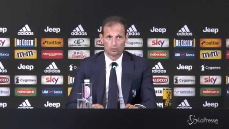 """Juve, Allegri: """"Addio di Marchisio? Scelta condivisa con la società"""""""