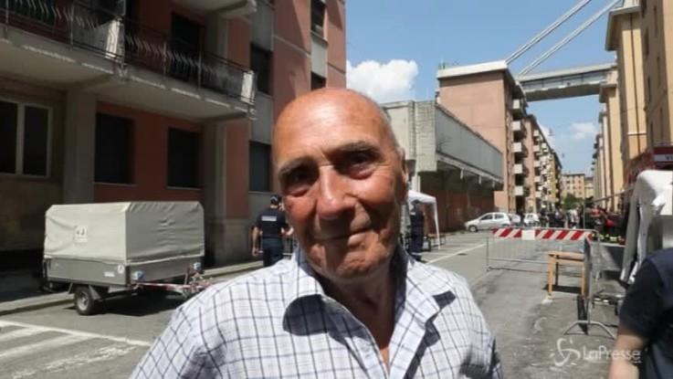 """Genova, la famiglia sfollata: """"Ecco come siamo tornati a casa"""""""