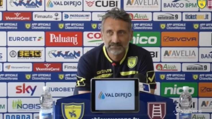 """Chievo, D'Anna: """"Con la Juve non partiamo sconfitti, gliela faremo sudare"""""""