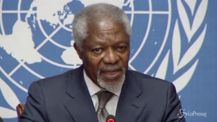 È morto Kofi Annan, primo Segretario di colore dell'Onu