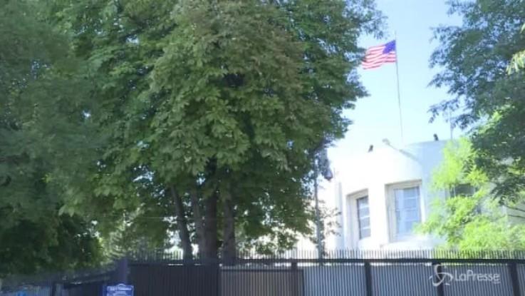 Spari contro ambasciata Usa ad Ankara: caccia all'uomo