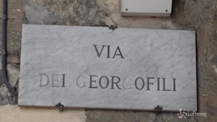 Renzi sul set per il primo ciak del suo docufilm su Firenze