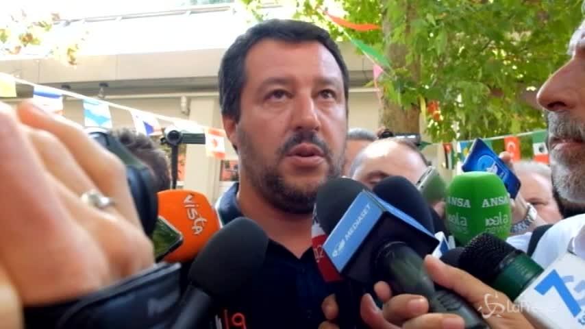 """Genova, Salvini: """"Non faremo i regali che qualcuno ha fatto in passato"""""""