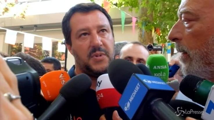 """Salva Benetton, Salvini: """"Fossi nel Pd manterrei un dignitoso silenzio"""""""
