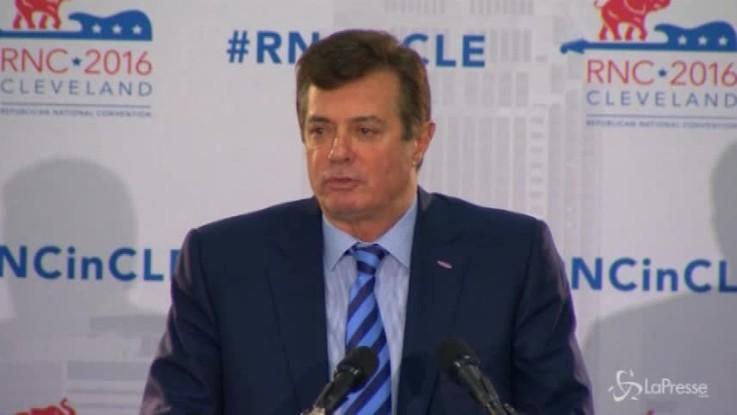 Russiagate, 8 capi d'accusa per l'ex capo della campagna elettorale di Trump