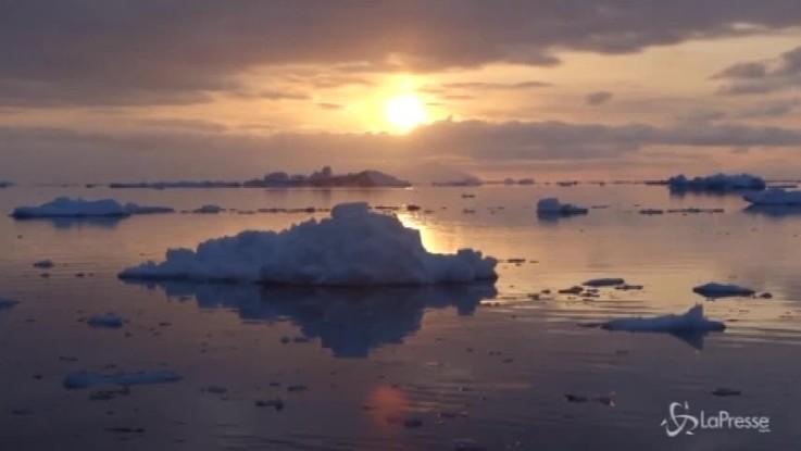 Artico, cede il più spesso ghiacciaio marino