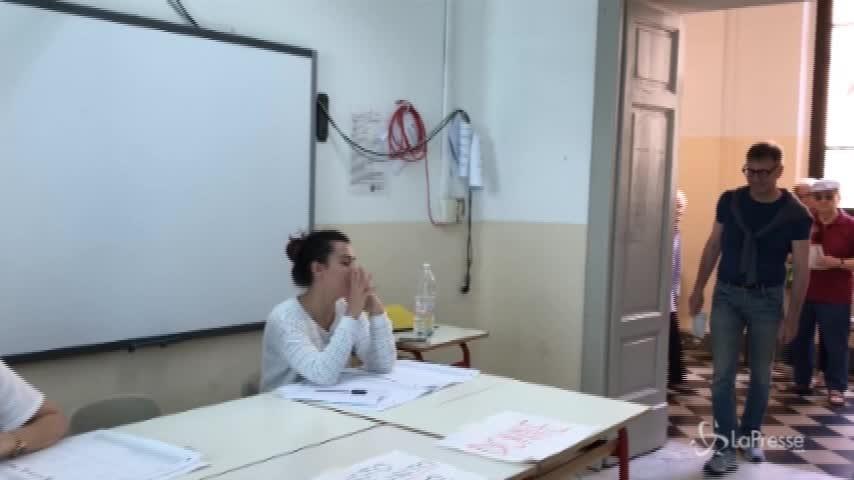 Siena, il candidato centrodestra De Mossi al voto