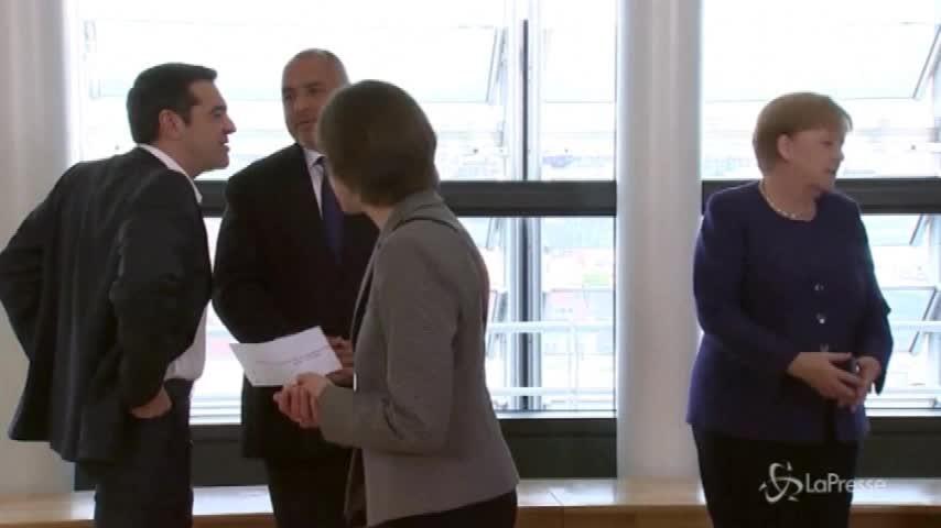 Minisummit Ue, i leader europei insieme per la foto ufficiale