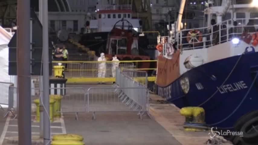 La Lifeline è arrivata nel porto di Malta