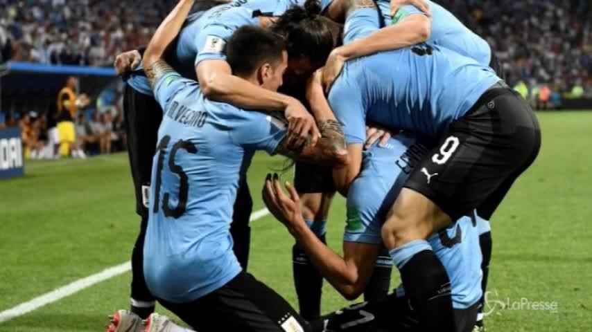 Mondiali, Uruguay batte Portogallo: ora i quarti con la Francia