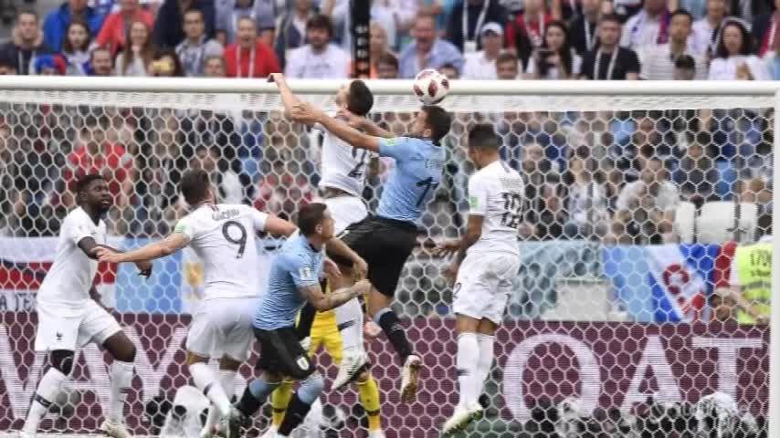 Francia batte Uruguay: prima semifinalista mondiale