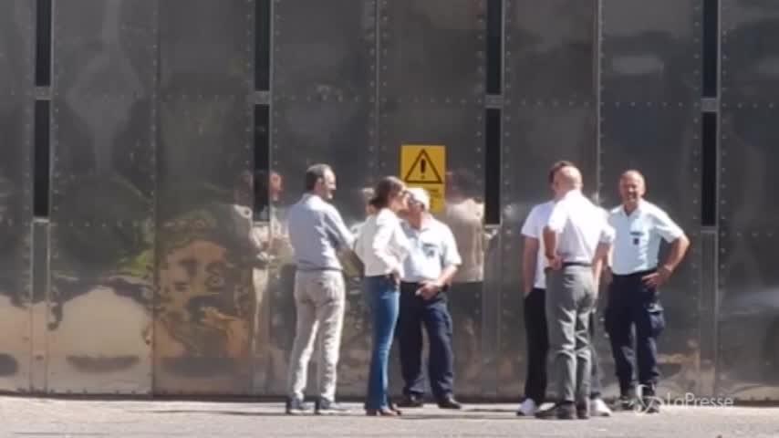 Marcello Dell'Utri esce dal carcere di Rebibbia