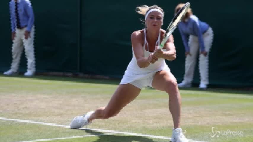 Wimbledon, Camila Giorgi ai quarti di finale