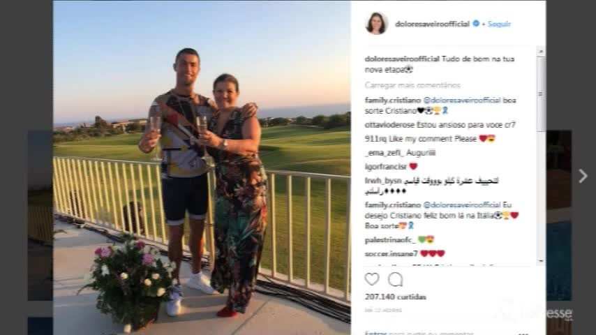 Cr7 alla Juve, gli auguri della Mamma su Instagram
