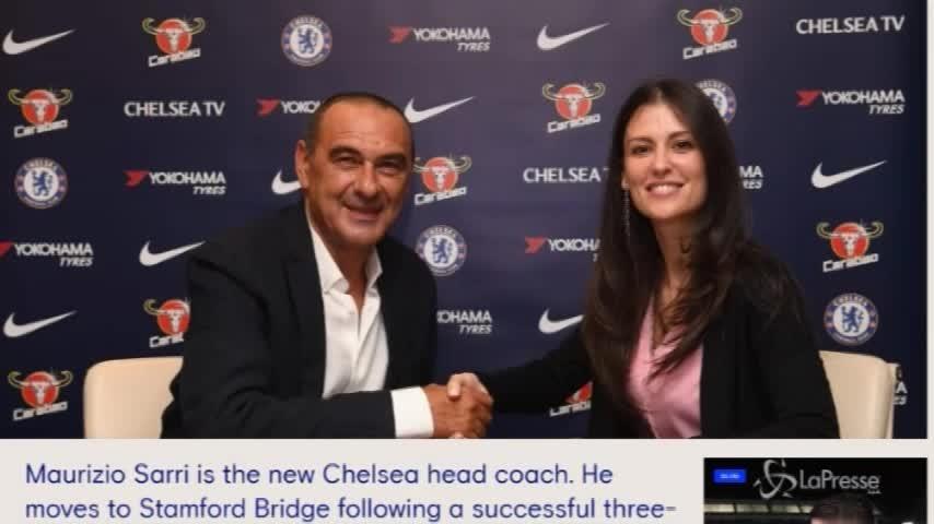 Sarri è il nuovo allenatore del Chelsea