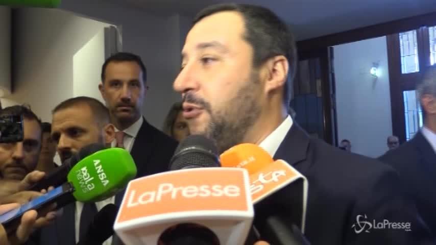 """Migranti, Salvini: """"Ridurremo spese di accoglienza"""""""