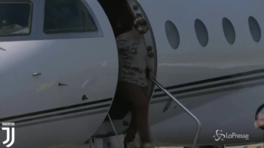 Ronaldo arriva a Torino