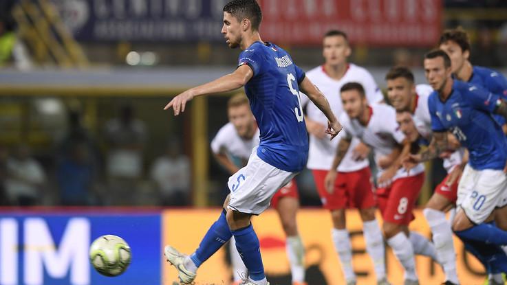 Nations League, 1-1 fra Italia e Polonia: il rigore di Jorginho salva Mancini