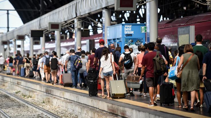 Treni, guasti ritardi Italia spaccata