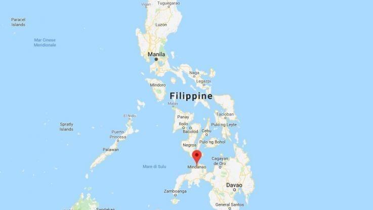 Filippine, scossa di terremoto magnitudo 6.1