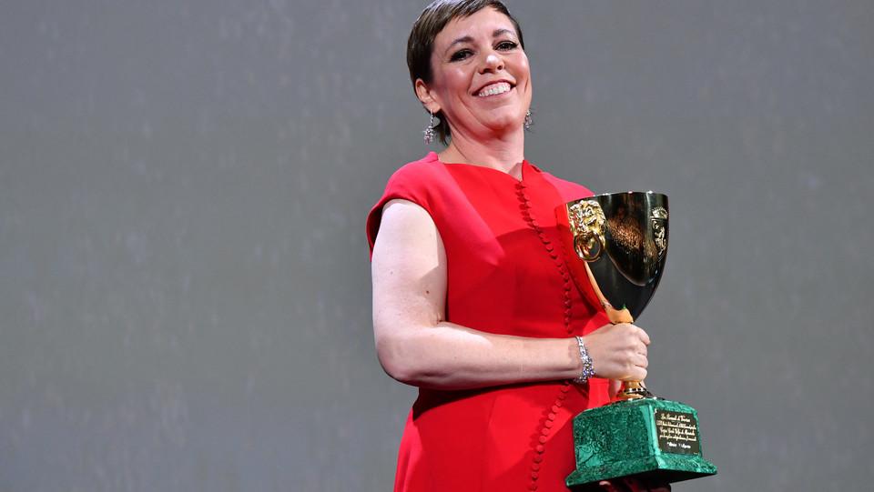 Il premio Coppa Volpi per la migliore attrice va a Olivia Colman in 'The favourite' di Yorgos Lanthimos ©