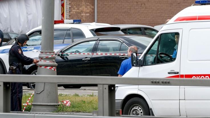Russia auto investe pedoni a Mosca