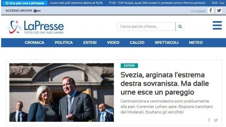 nuovo sito lapresse.it