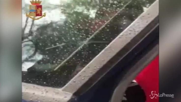 Maltempo Puglia, salvato bimbo intrappolato nell'auto sommersa dall'acqua