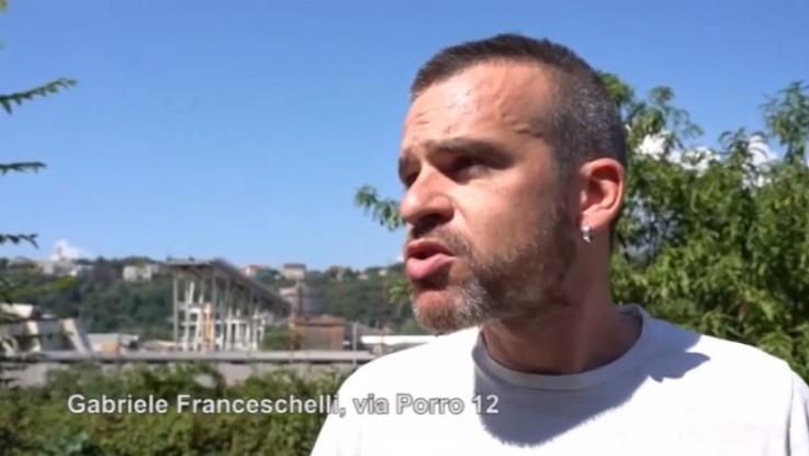 Crollo Genova, la disperazione degli sfollati