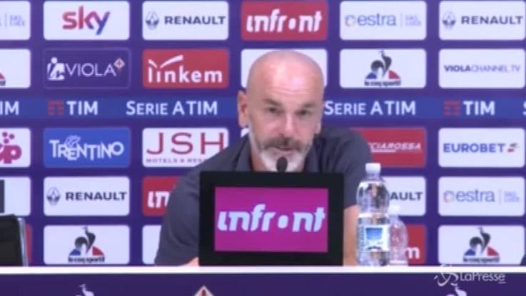 """Pioli: """"Quest'anno voglio una Fiorentina spumeggiante"""""""