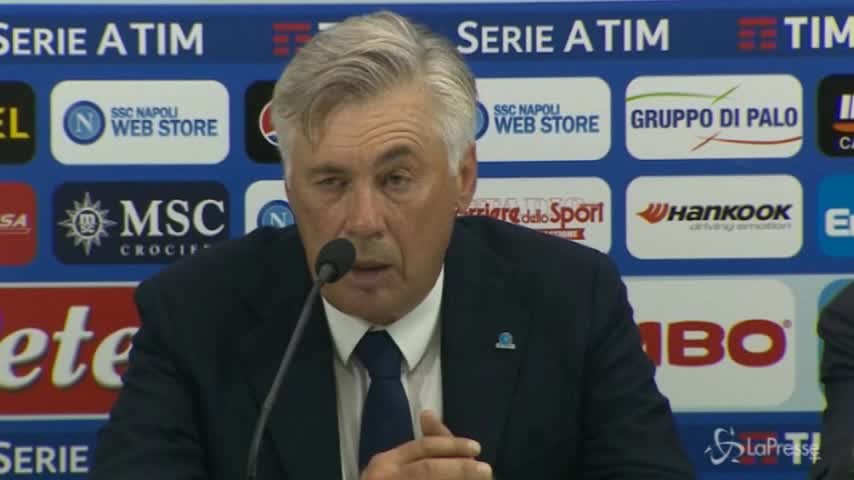 """Ancelotti: """"L'entusiasmo del San Paolo è stato determinante. Questo è il Napoli dei tifosi"""""""