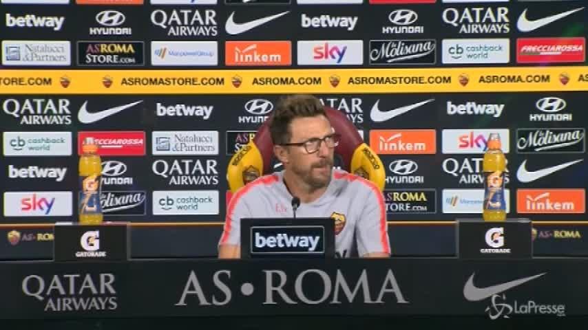 """Di Francesco: """"Per Strootman c'è una trattavia in corso, decideremo insieme"""""""