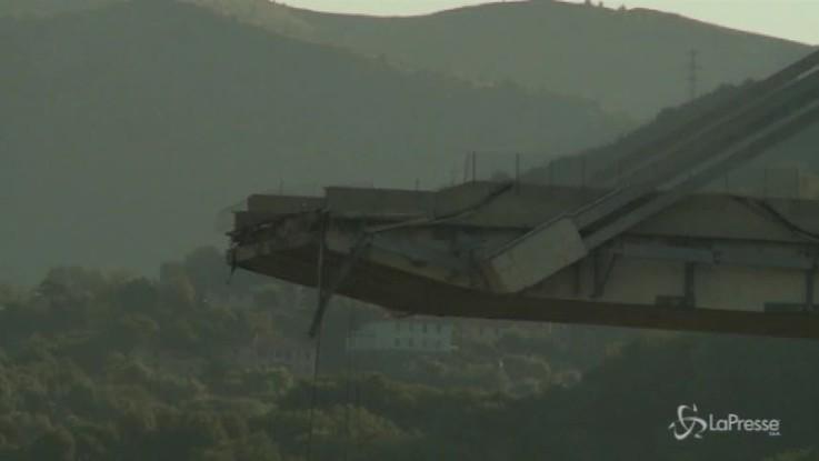 """Autostrade in una lettera: """"Ponte Morandi non sicuro"""""""