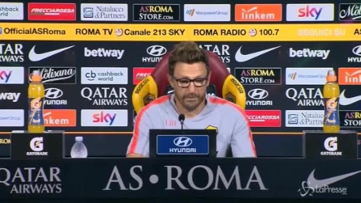 """Di Francesco: """"Col Milan voglio una grande risposta"""""""