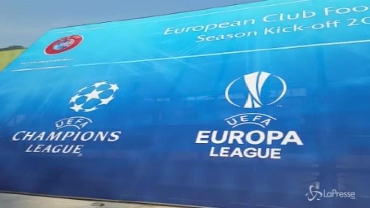 Champions League, l'attesa dei tifosi per i sorteggi a Montecarlo