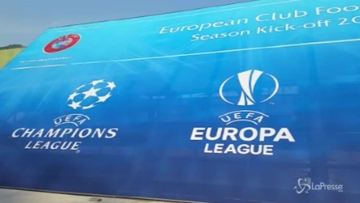 Champions League, sorteggiati i gironi