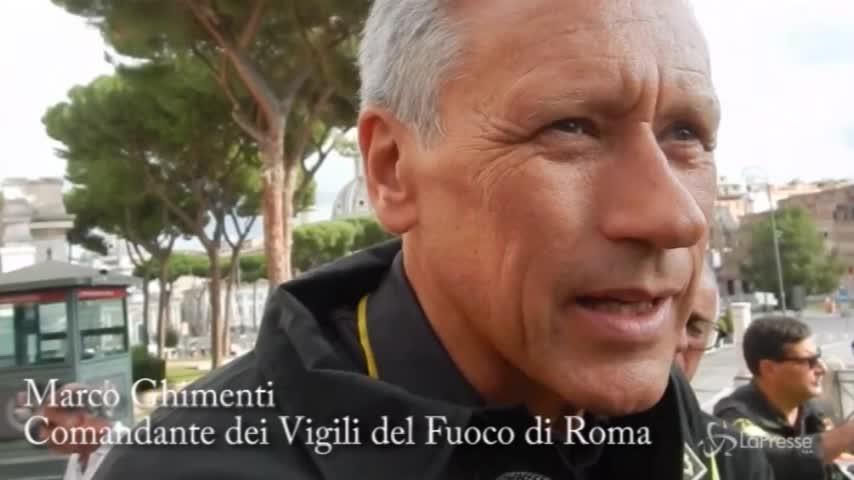 """Crollo Roma, il comandante dei vigili: """"Non escludiamo altri distacchi"""""""