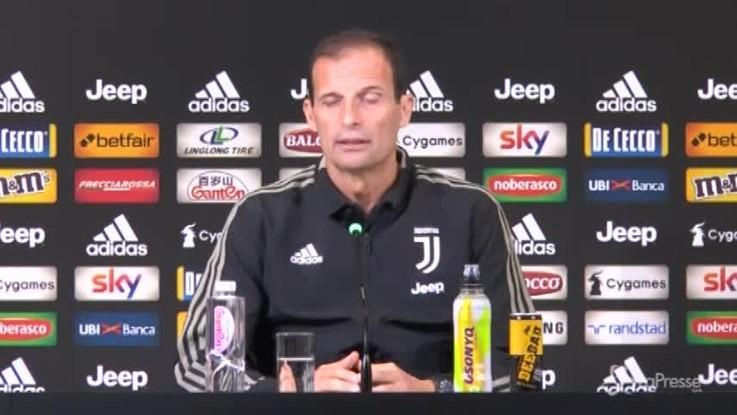 """Allegri: """"Da Parma bisogna venire via con i 3 punti"""""""