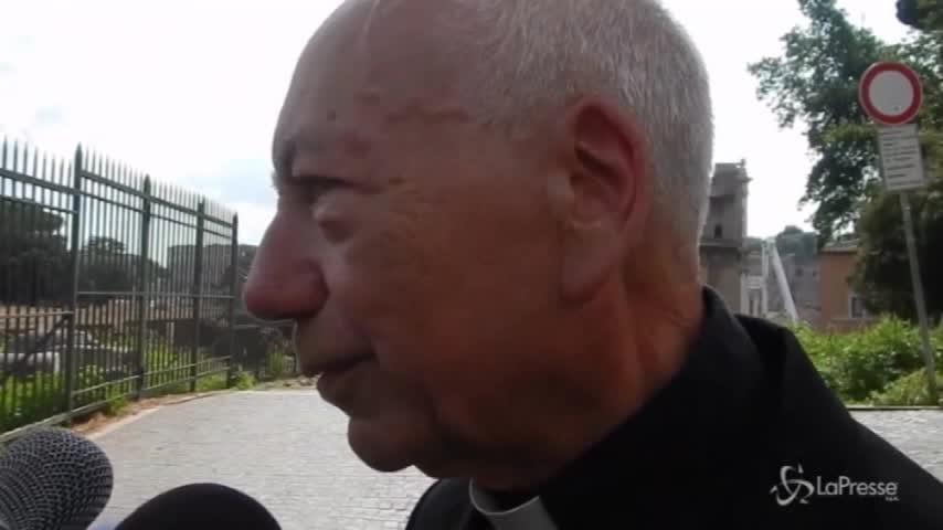 """Crollo Roma, card. Coccopalmiero: """"Molto dolore per una chiesa che amo molto"""""""