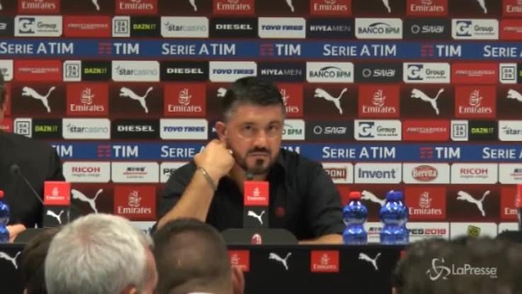 """Gattuso: """"Mi sembrava di vedere il film della partita col Napoli..."""""""