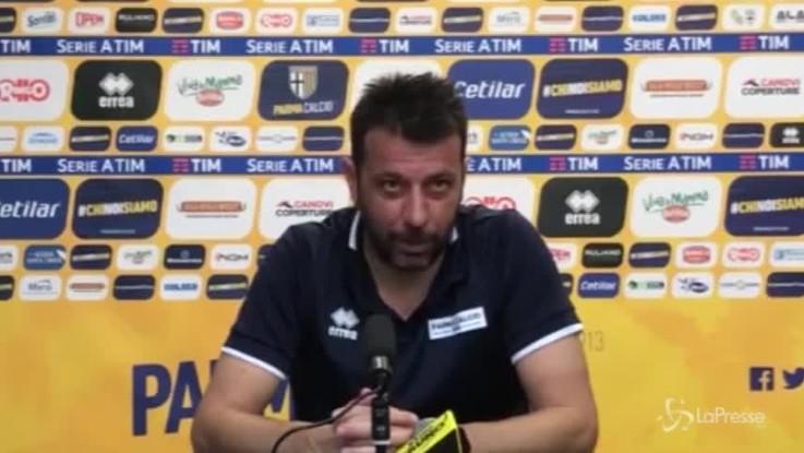"""D'Aversa: """"La gara con la Juve una occasione importante per tutti"""""""